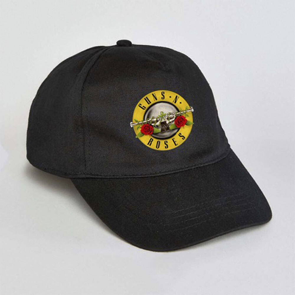 - Guns N Roses Bullet Logo Dad Hat Adjustable Baseball Cap