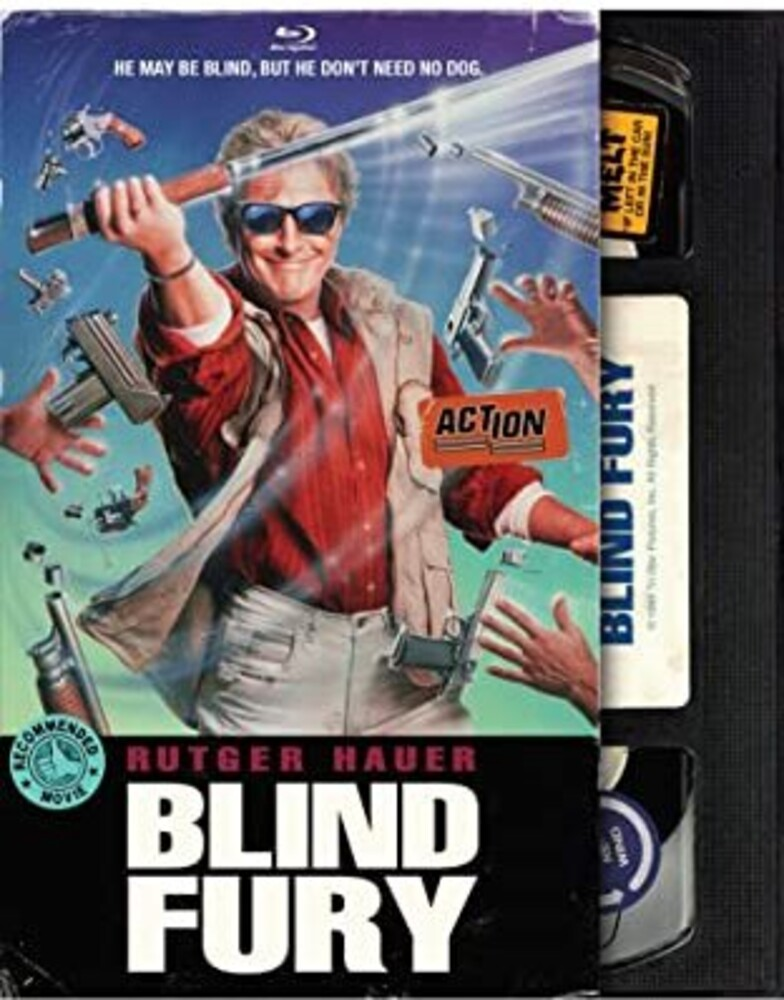 Blind Fury - Blind Fury (Retro VHS Packaging)