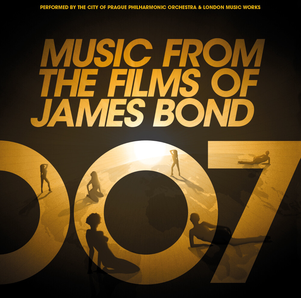 City Of Prague Philharmonic Orchestra - Music From the Films of James Bond (Gold Vinyl)