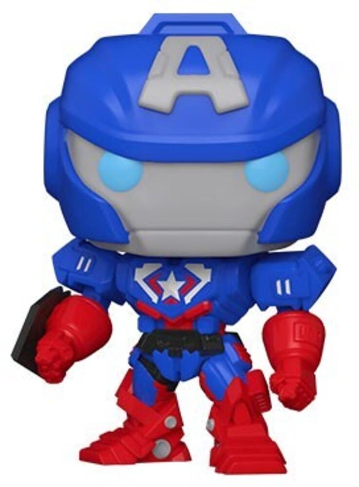 - FUNKO POP! MARVEL: Marvel Mech- Cap. America