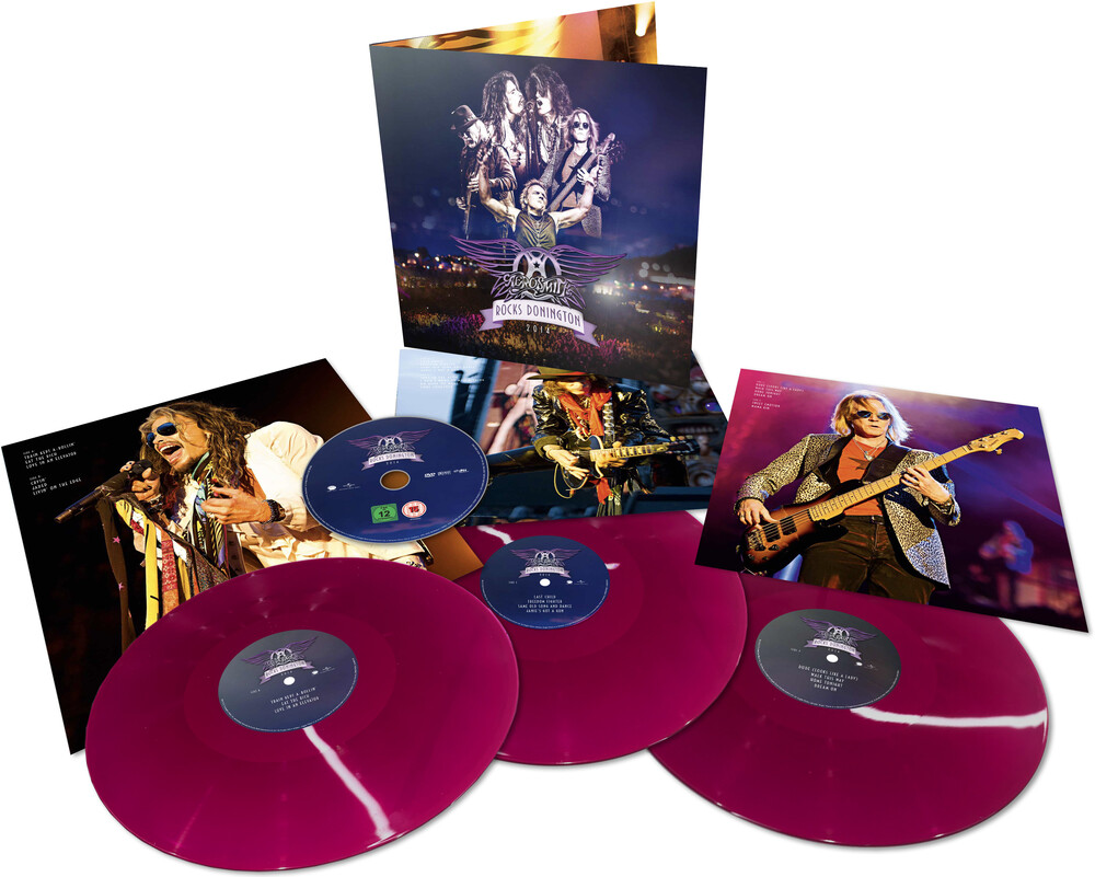 Aerosmith - Rocks Donington 2014 (3LP+DVD)