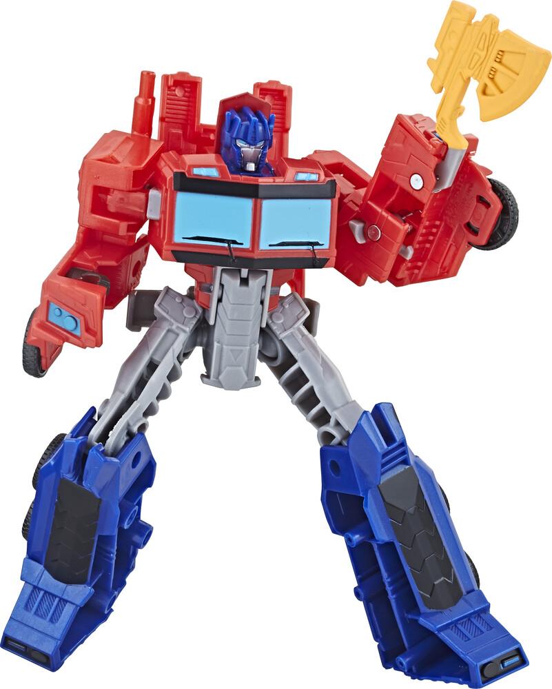 Tra Cyberverse Warrior Optimus Prime - Tra Cyberverse Warrior Optimus Prime (Afig) (Clcb)