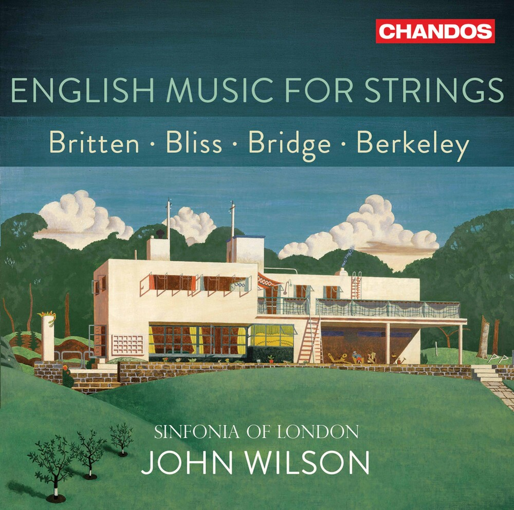 Sinfonia Of London - English Music For Strings (Hybr)
