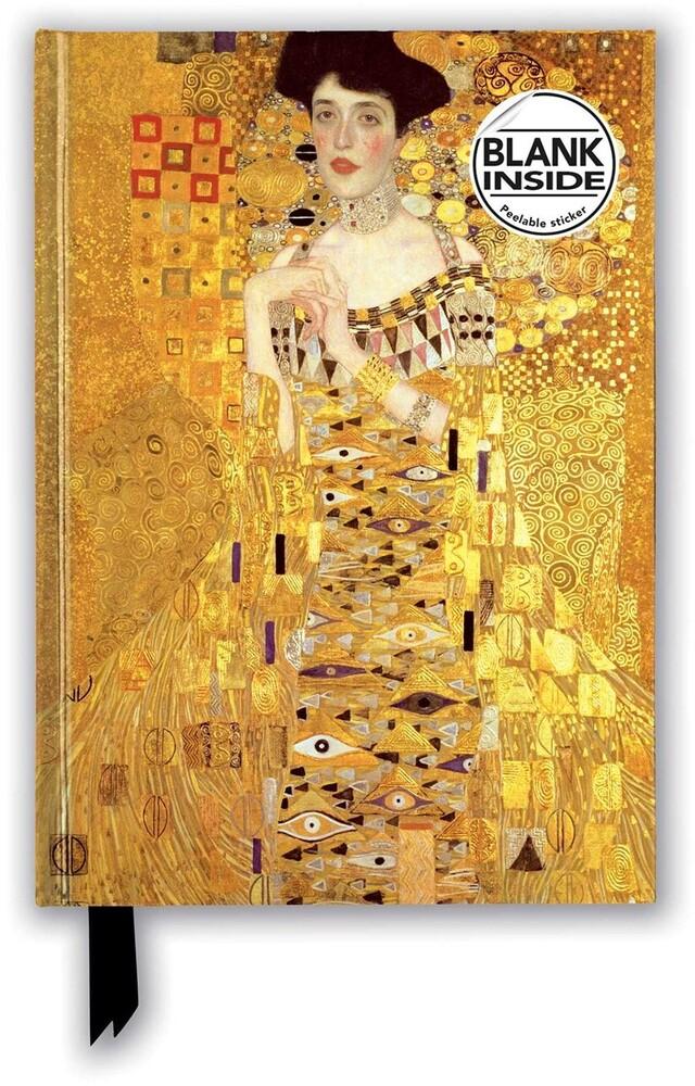 Flame Tree Studio - Gustav Klimt: Adele Bloch Bauer I: Foiled Blank Journal