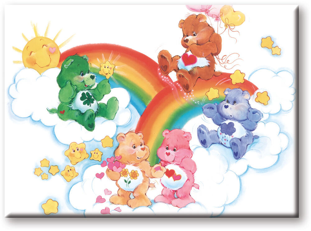 Care Bears Clouds 2.5 X 3.5 Flat Magnet - Care Bears Clouds 2.5 X 3.5 Flat Magnet