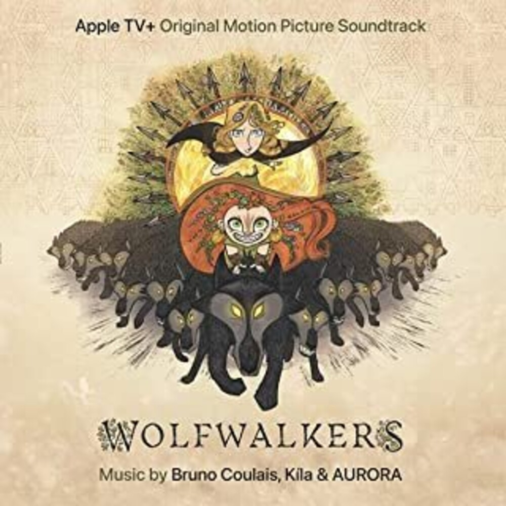 Bruno Coulais  / Kila / Aurora (Colv) (Org) (Uk) - Wolfwalkers (Original Soundtrack) [Orange Colored Vinyl]