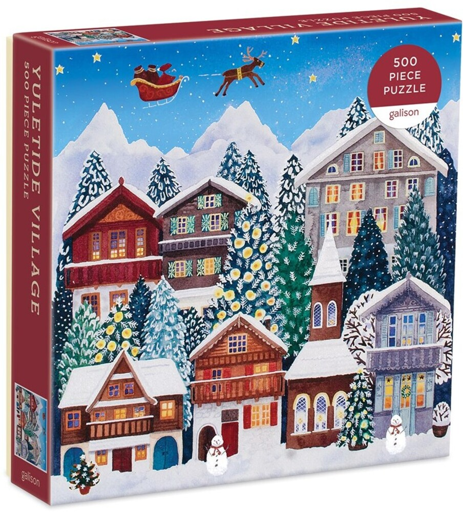 - Yuletide Village 500 Piece Puzzle