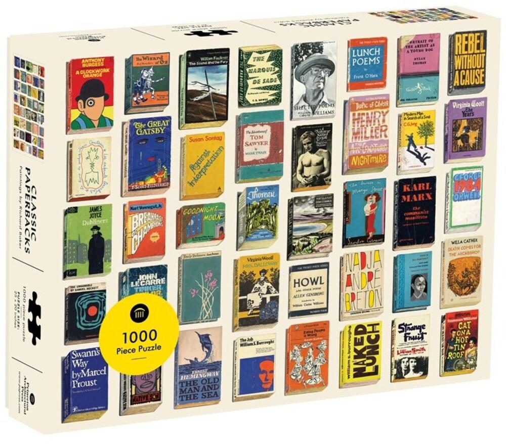 - Classic Paperbacks 1000 Piece Puzzle