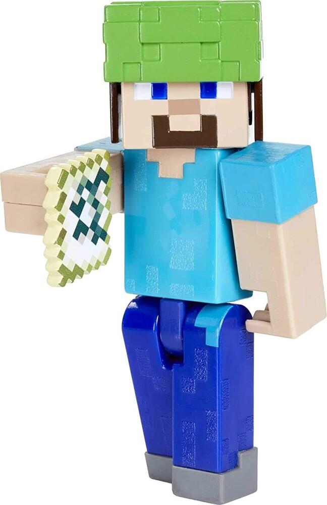 Minecraft - Mattel Collectible - Minecraft 3.25 Underwater Steve