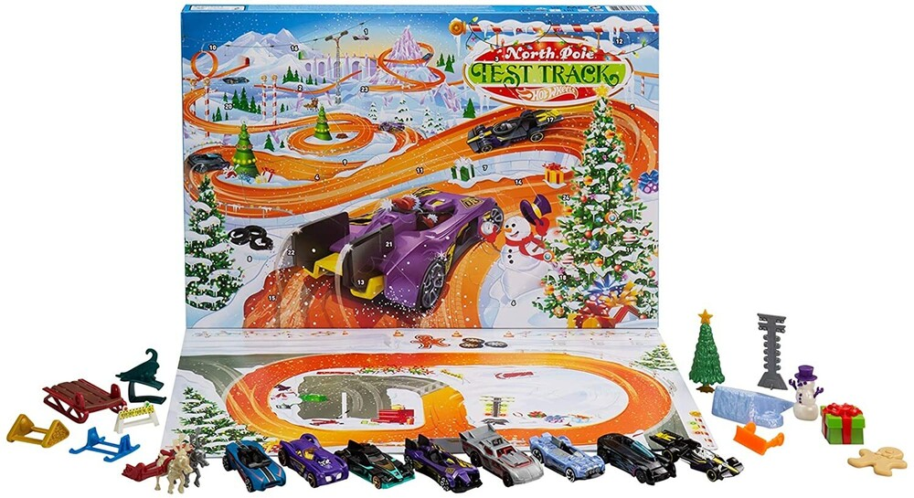 - Mattel - Hot Wheels Advent Calendar, 2021