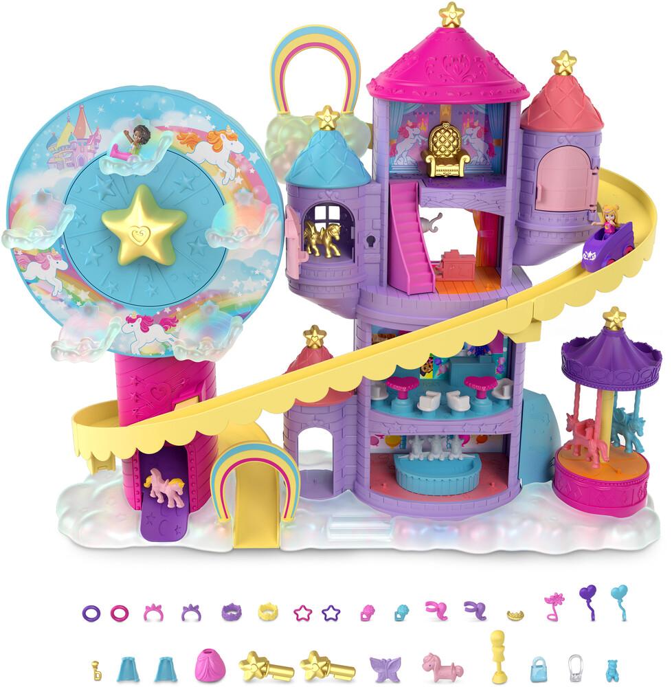 Polly Pocket - Mattel - Polly Pocket Fantasy Unicornland