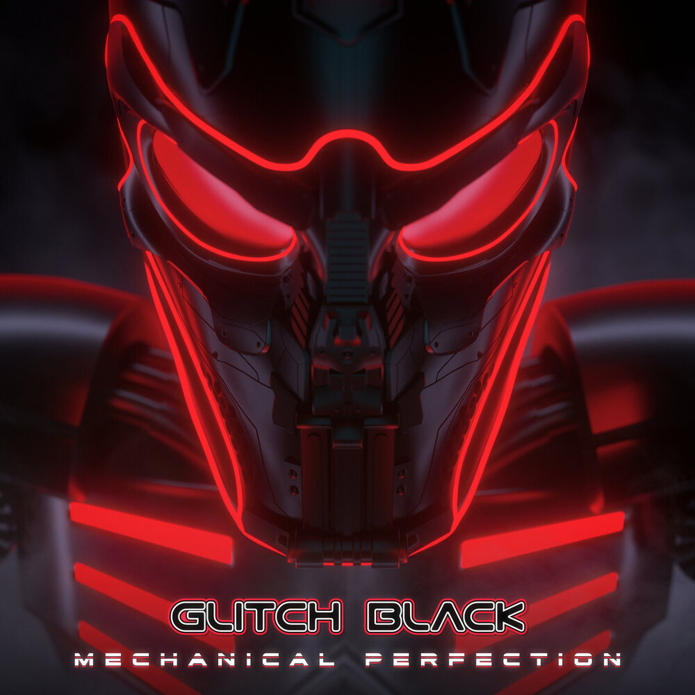 Glitch Black - Mechanical Perfection (Red Vinyl) [Colored Vinyl] (Red)