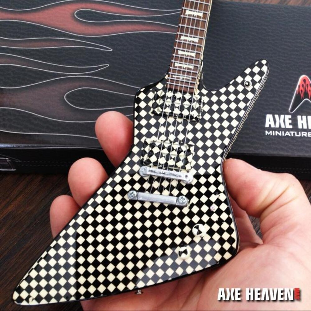 - Rick Nielsen Cheap Trick Checkered Hamer Guitar
