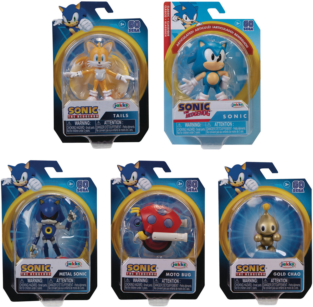 - Sonic The Hedgehog 2-1/2in Af Wave 3 Assortment