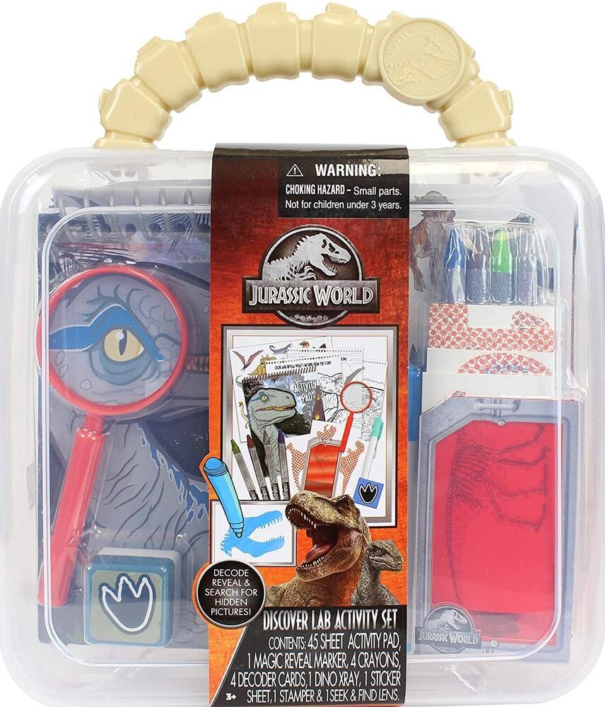 - Tara Toys - Jurassic World Dino Discovery Lab Activity Set