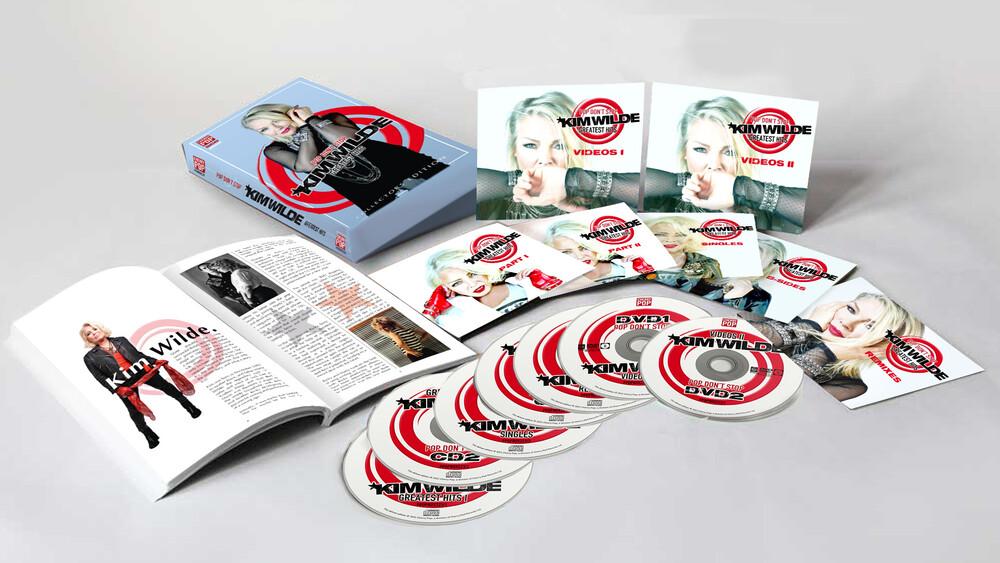 Kim Wilde - Pop Don't Stop: Greatest Hits (W/Dvd) (Box) (Uk)