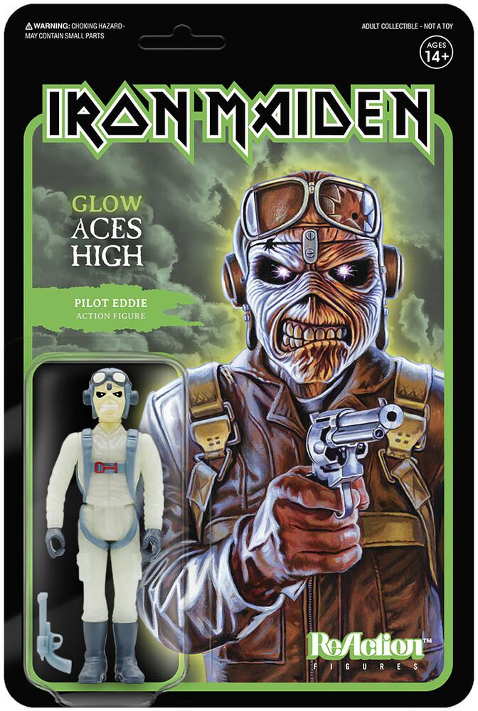 Iron Maiden - Pilot Eddie (Glow) (Ae Exclusive) - Iron Maiden - Pilot Eddie (Glow) (Ae Exclusive)