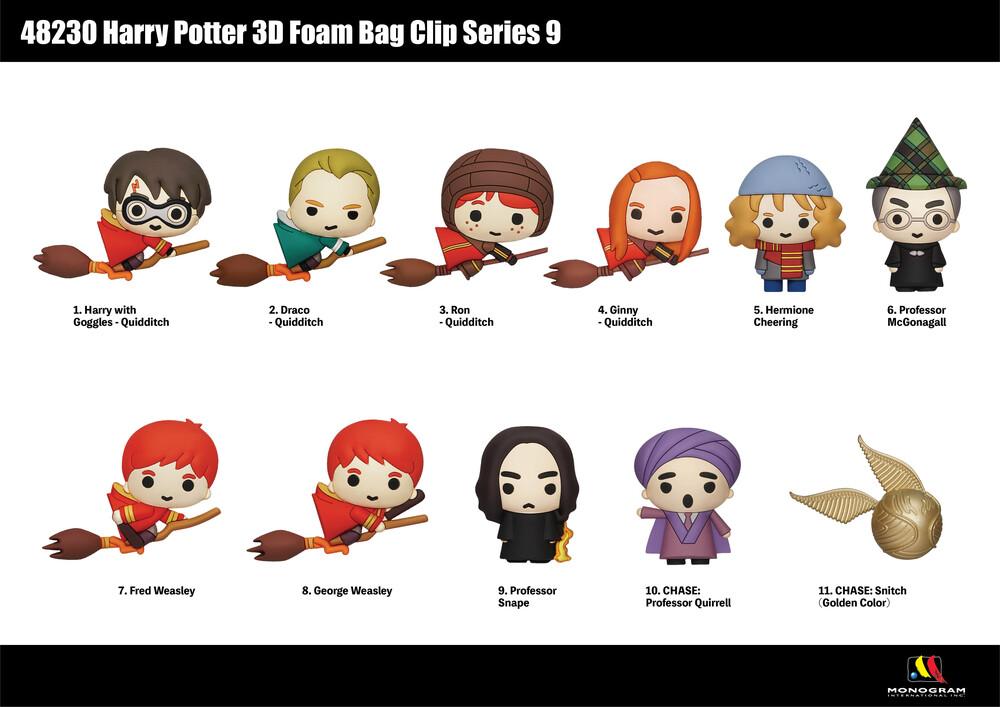 Harry Potter 3D Foam Bag Clip - Series 9 - Harry Potter 3d Foam Bag Clip - Series 9 (Key)