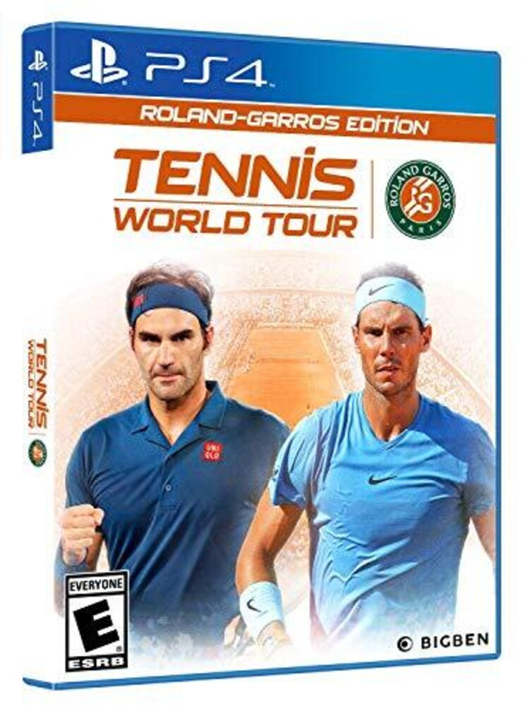 - Tennis World Tour Roland-Garros Edition for PlayStation 4