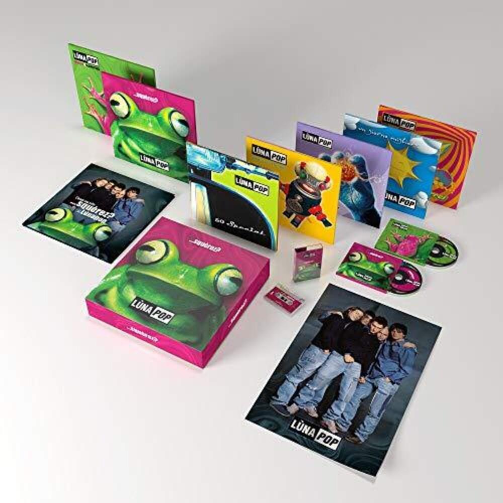 Lunapop - Squerez (W/Book) (W/Cassette) (10in) (Box) [Deluxe]