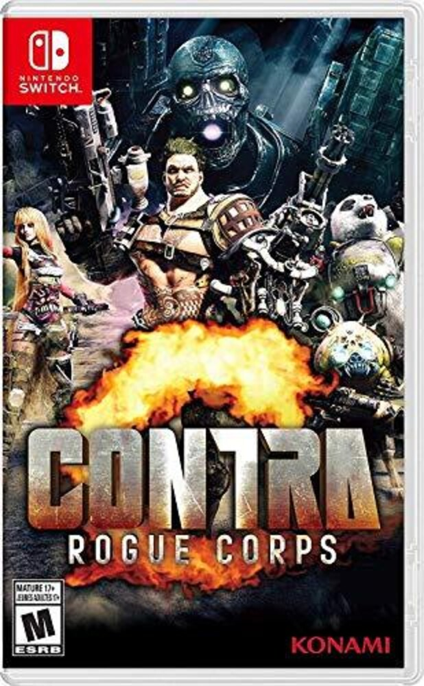 Swi Contra Rogue Corps - Contra Rogue Corps