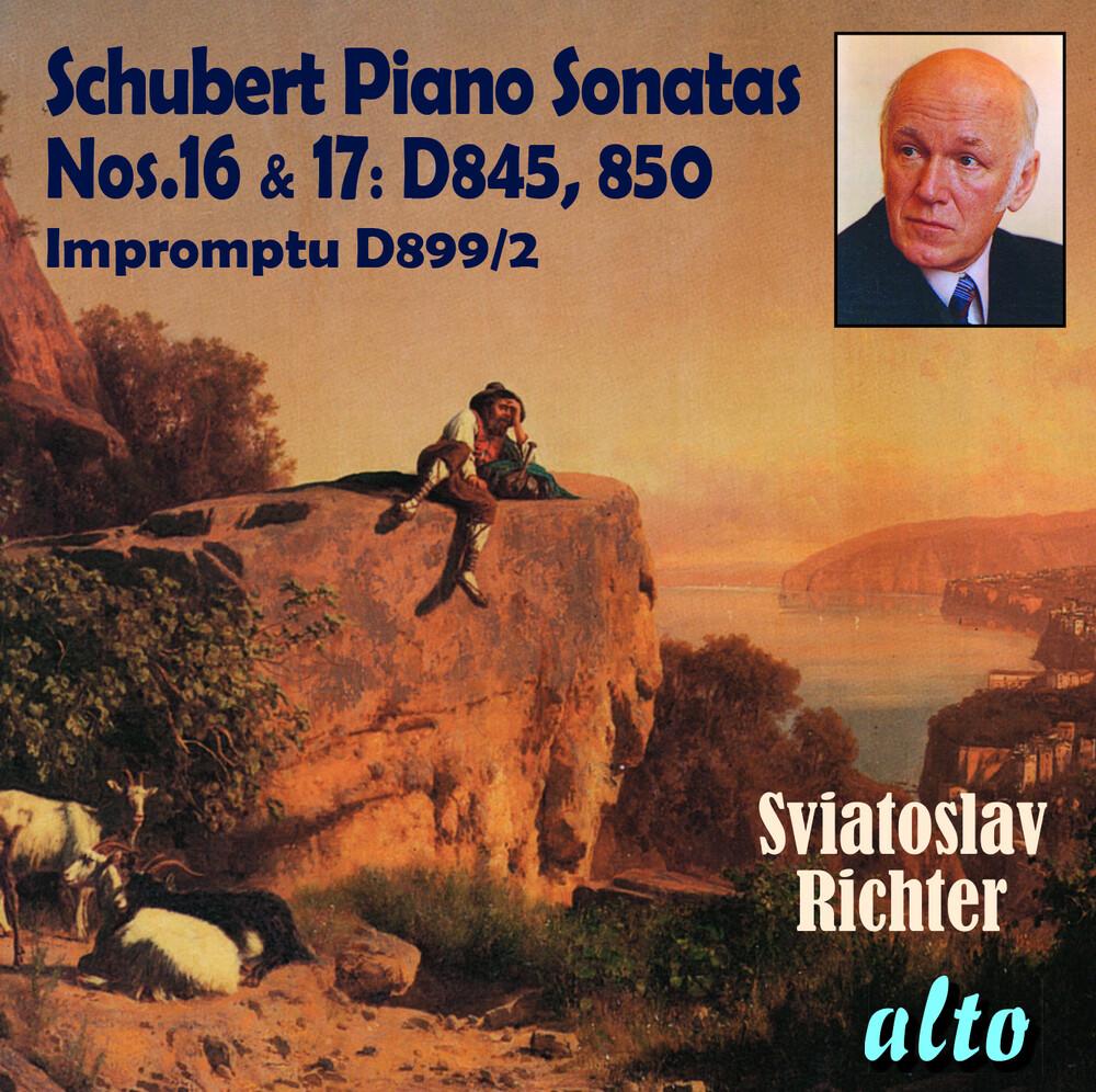 Sviatoslav Richter - Schubert: Piano Sonatas Nos. 16 & 17, Impromptu No. 2