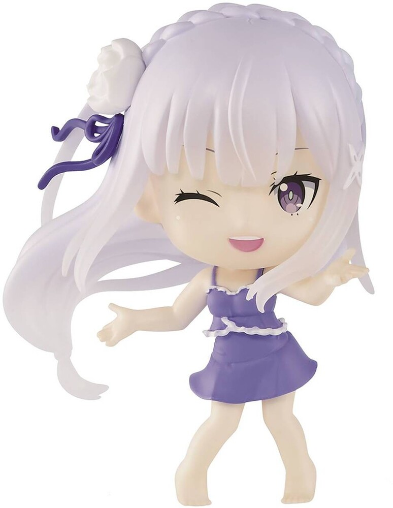 Banpresto - BanPresto - Re:Zero Starting Life in Another World Emelia ChibikyunFigure