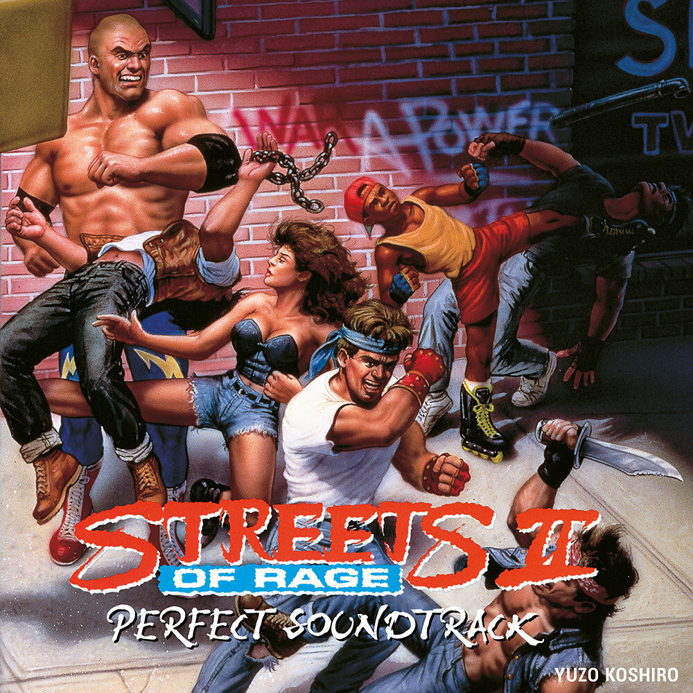 Yuzo Koshiro Rmst - Streets Of Rage 2 - Perfect Soundtrack (Tape Ed.)