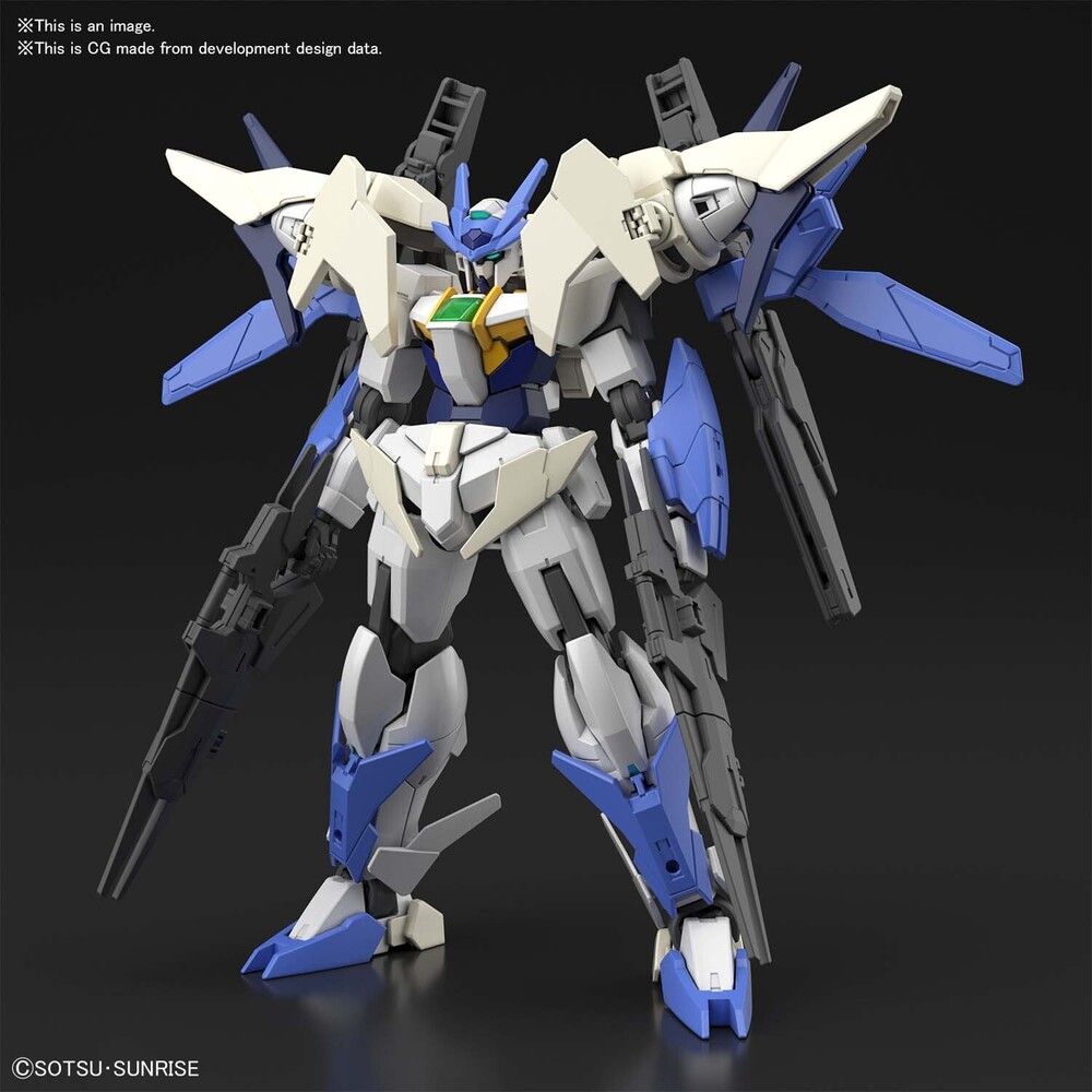 Bandai Hobby - Bandai Hobby - Gundam Build Divers - #39 '00 Gundam New type(Tentative), Bandai Spirits HGBD 1/144