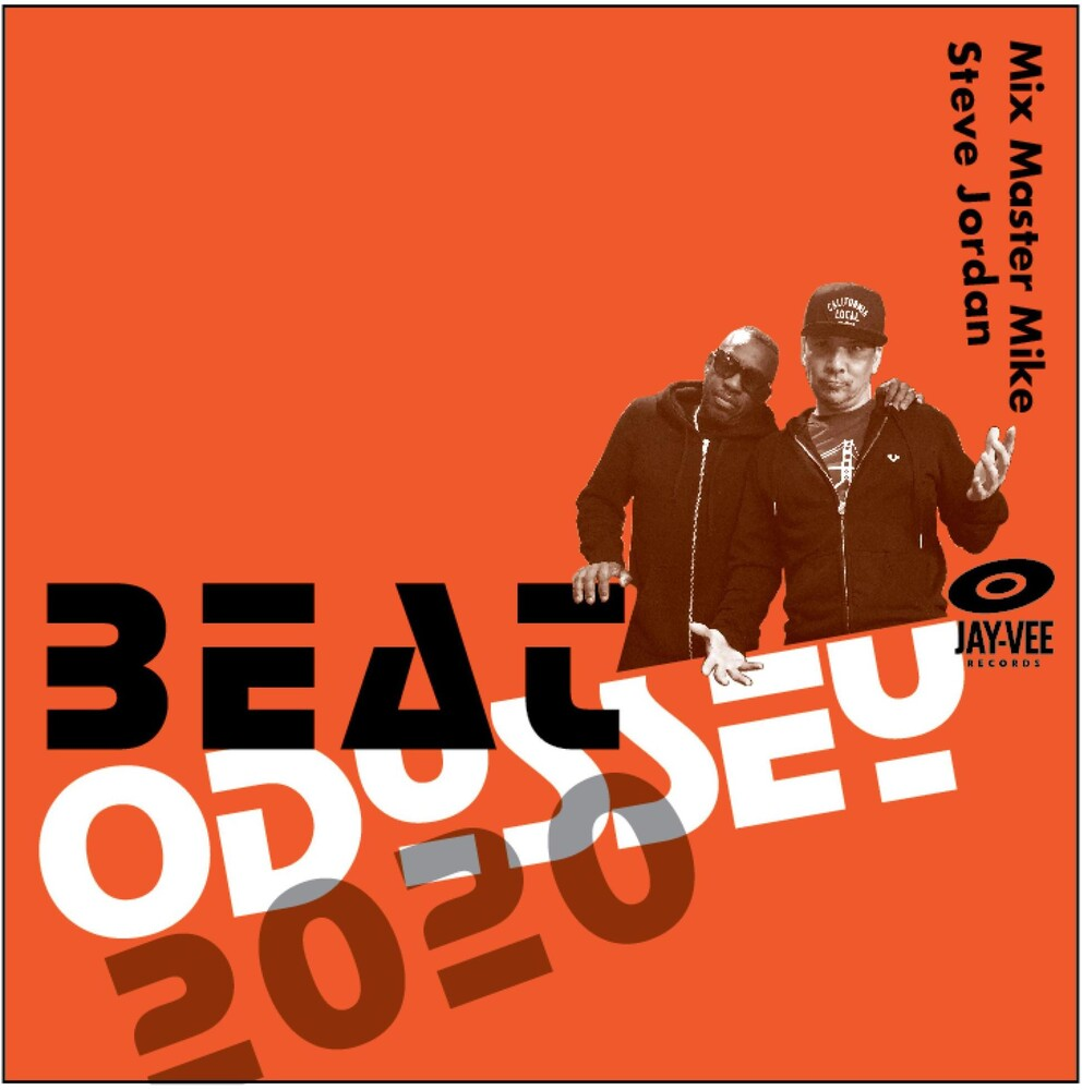 Mix Master Mike and Steve Jordan - Beat Odyssey 2020 [LP]