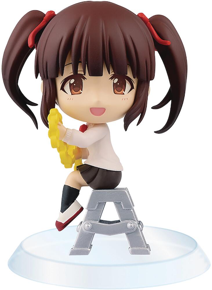 Banpresto - BanPresto - Idolmaster Cinderella Girls Chibikyun Chieri Ogata Figure