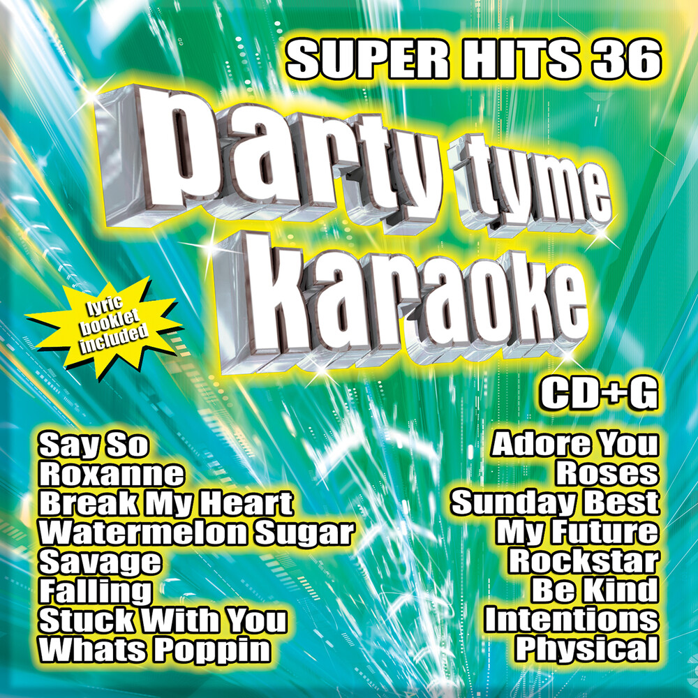 Party Tyme Karaoke Super Hits 36 / Various - Party Tyme Karaoke: Super Hits 36 / Various