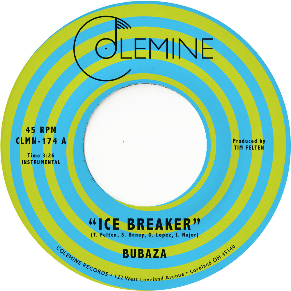 Bubaza - Ice Breaker (Orange Vinyl)