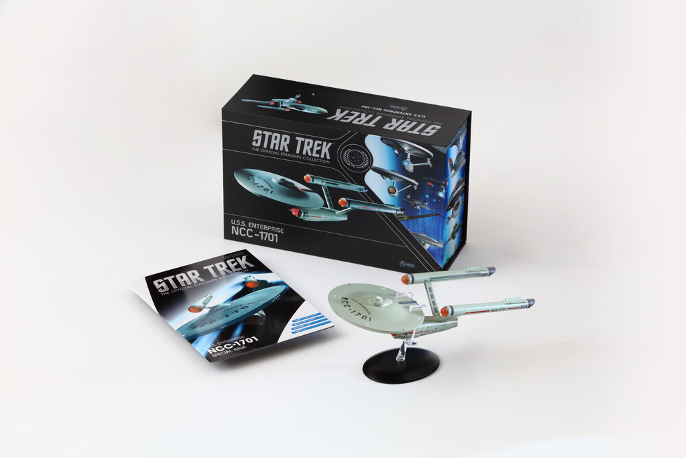 Star Trek - the Original Series Enterprise 1701 - Eaglemoss - Star Trek - The Original Series Enterprise 1701