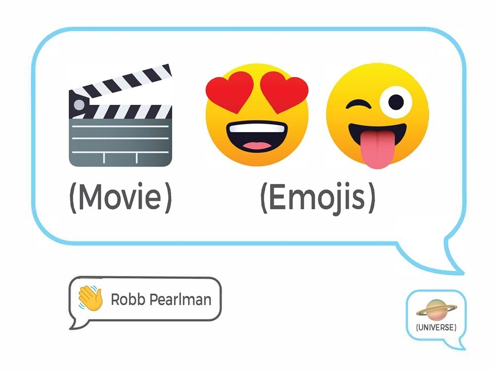 Pearlman, Robb - Movie Emojis: 100 Cinematic Q&As