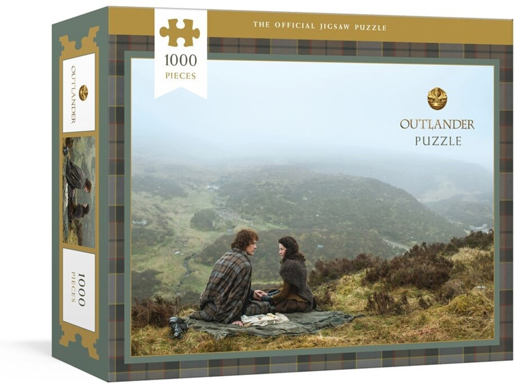 Sony Pictures Television - Outlander Puzzle: Officially Licensed 1000-Piece Jigsaw Puzzle: JigsawPuzzles for Adults