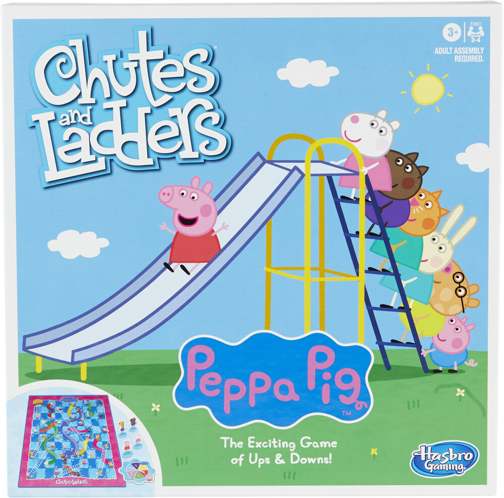 - Chutes And Ladders Peppa Pig (Wbdg)