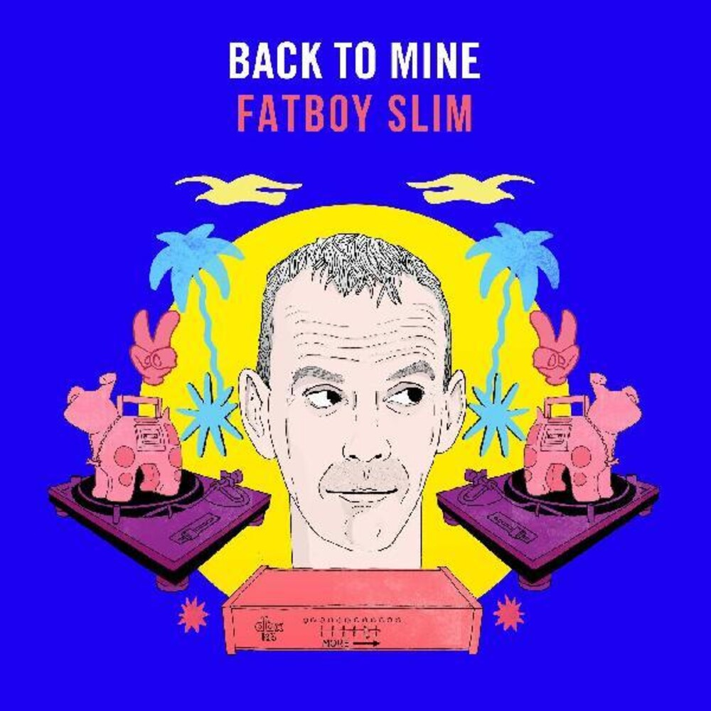 Back To Mine Fatboy Slim / Various - Back To Mine: Fatboy Slim / Various [Colored Vinyl] (Ylw)