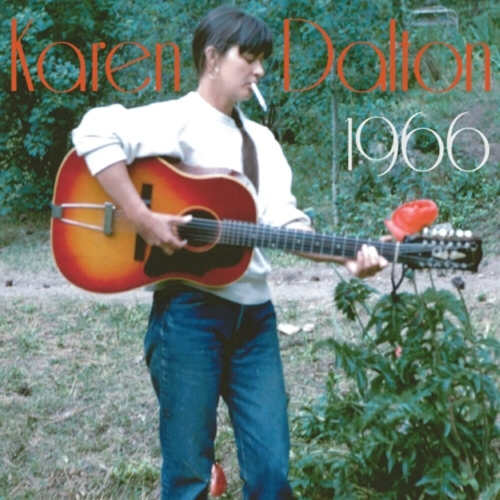 Karen Dalton - 1966 (Clear Green Rocky Road Vinyl) [Clear Vinyl]