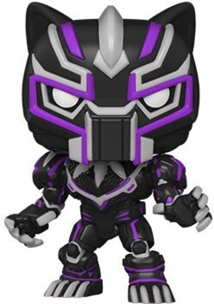 - FUNKO POP! MARVEL: Marvel Mech- Black Panther