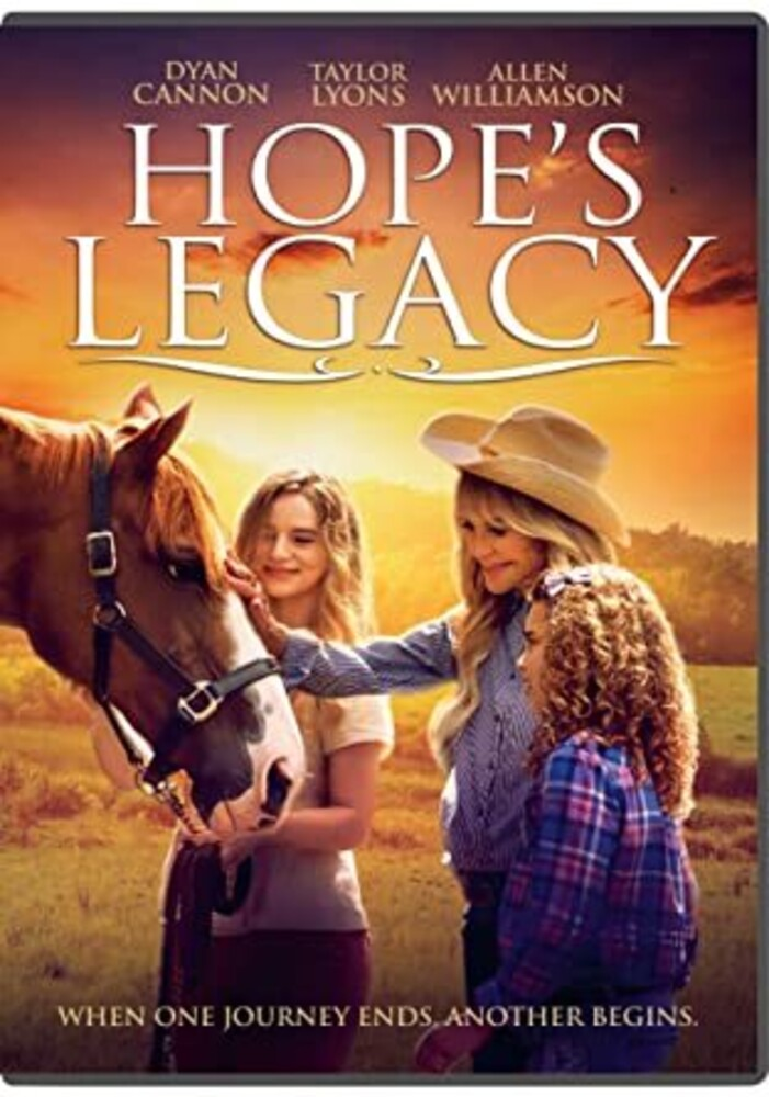 Hope's Legacy DVD - Hope's Legacy