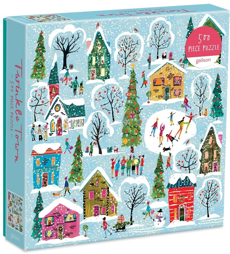 - Twinkle Town 500 Piece Puzzle