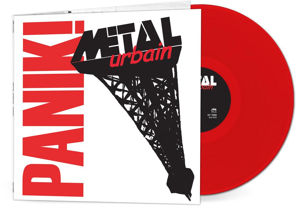 Metal Urbain - Panik (Red Vinyl)