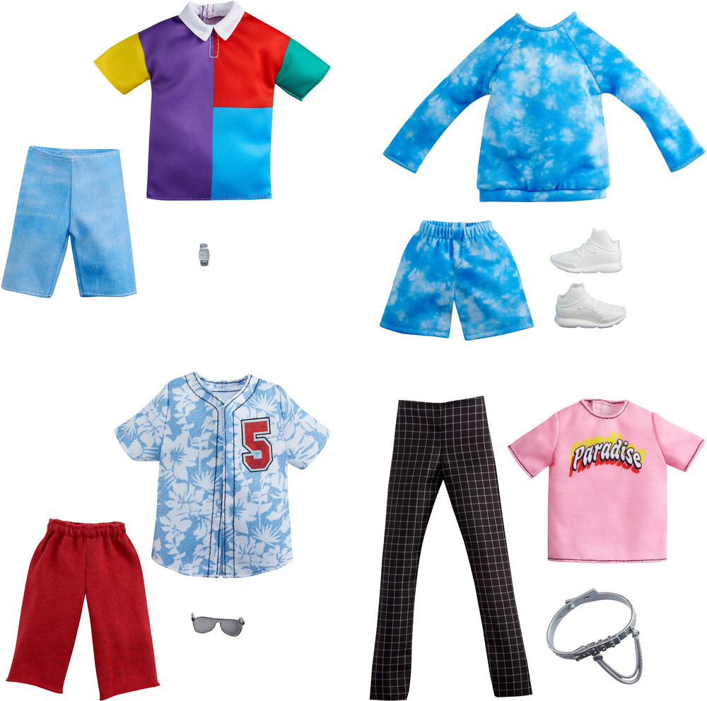 - Mattel - Barbie Ken Fashion Assortment