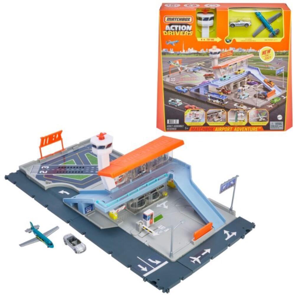 Matchbox - Mattel - Matchbox Action Drivers Airport Playset