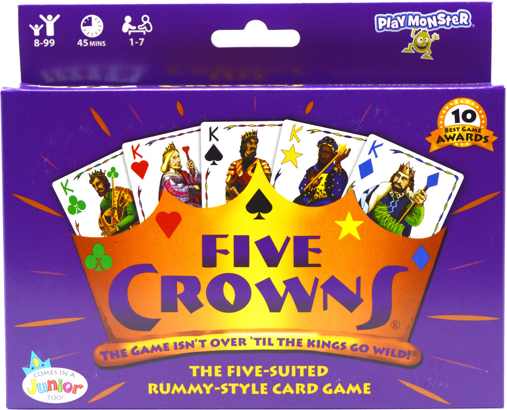 - Five Crowns Game Isnt Over Til The Kings Go Wild