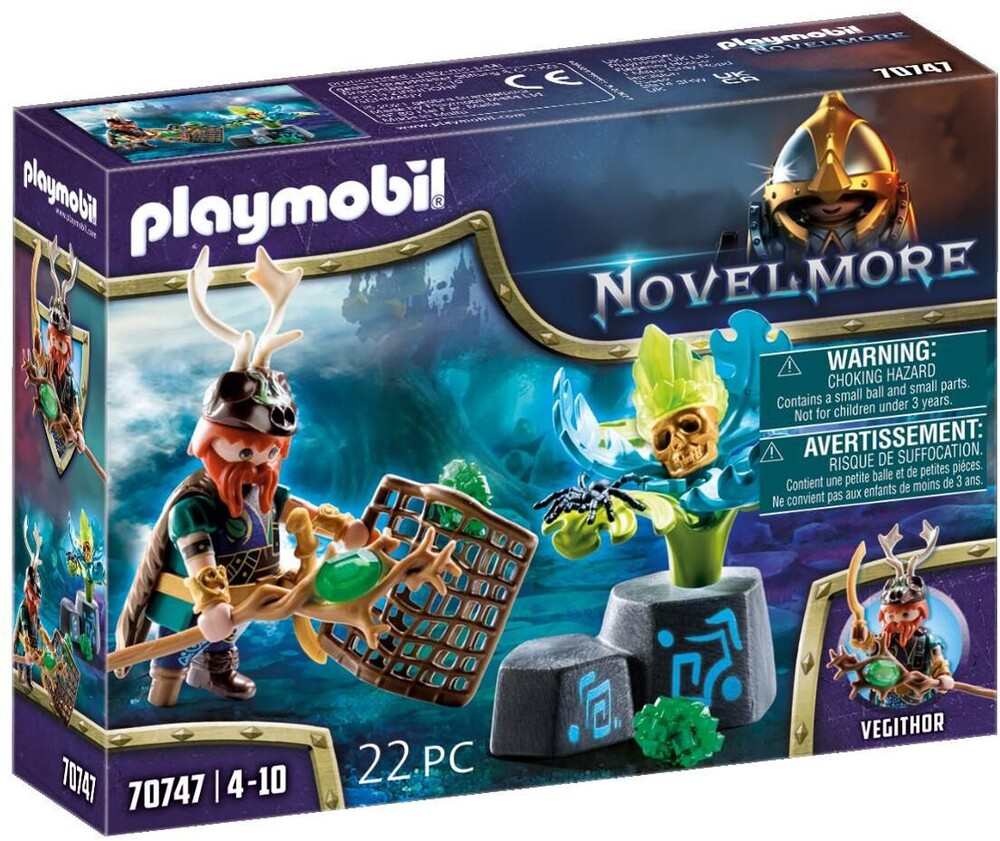 Playmobil - Novelmore Violet Vale Plant Magician (Fig)