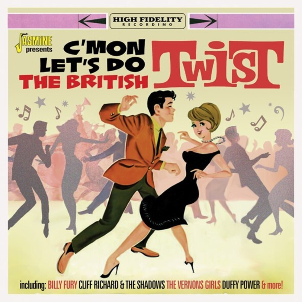 C'mon Let's Do The British Twist / Various - C'mon Let's Do The British Twist / Various (Uk)