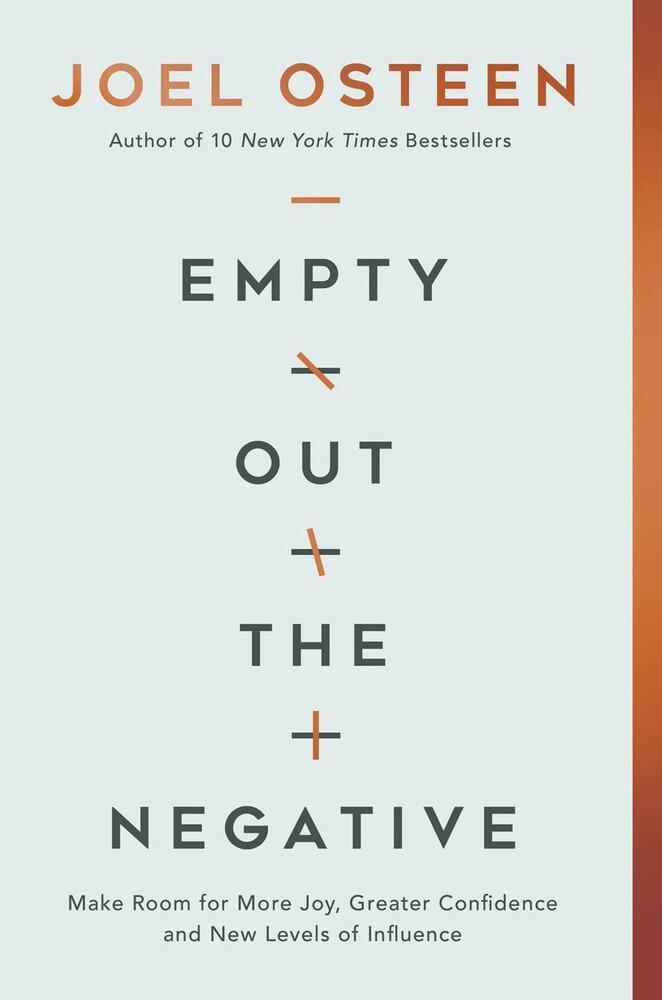 Joel Osteen - Empty Out The Negative (Ppbk)