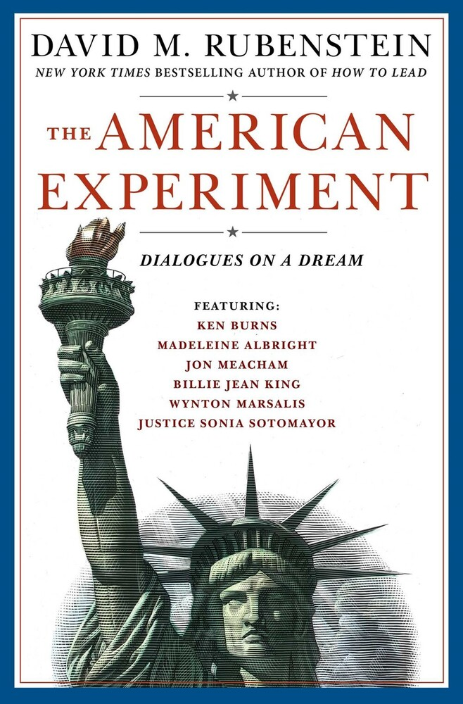 David Rubenstein  M - American Experiment (Hcvr)